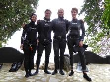 Team Omniblue at Dumagat Freedive