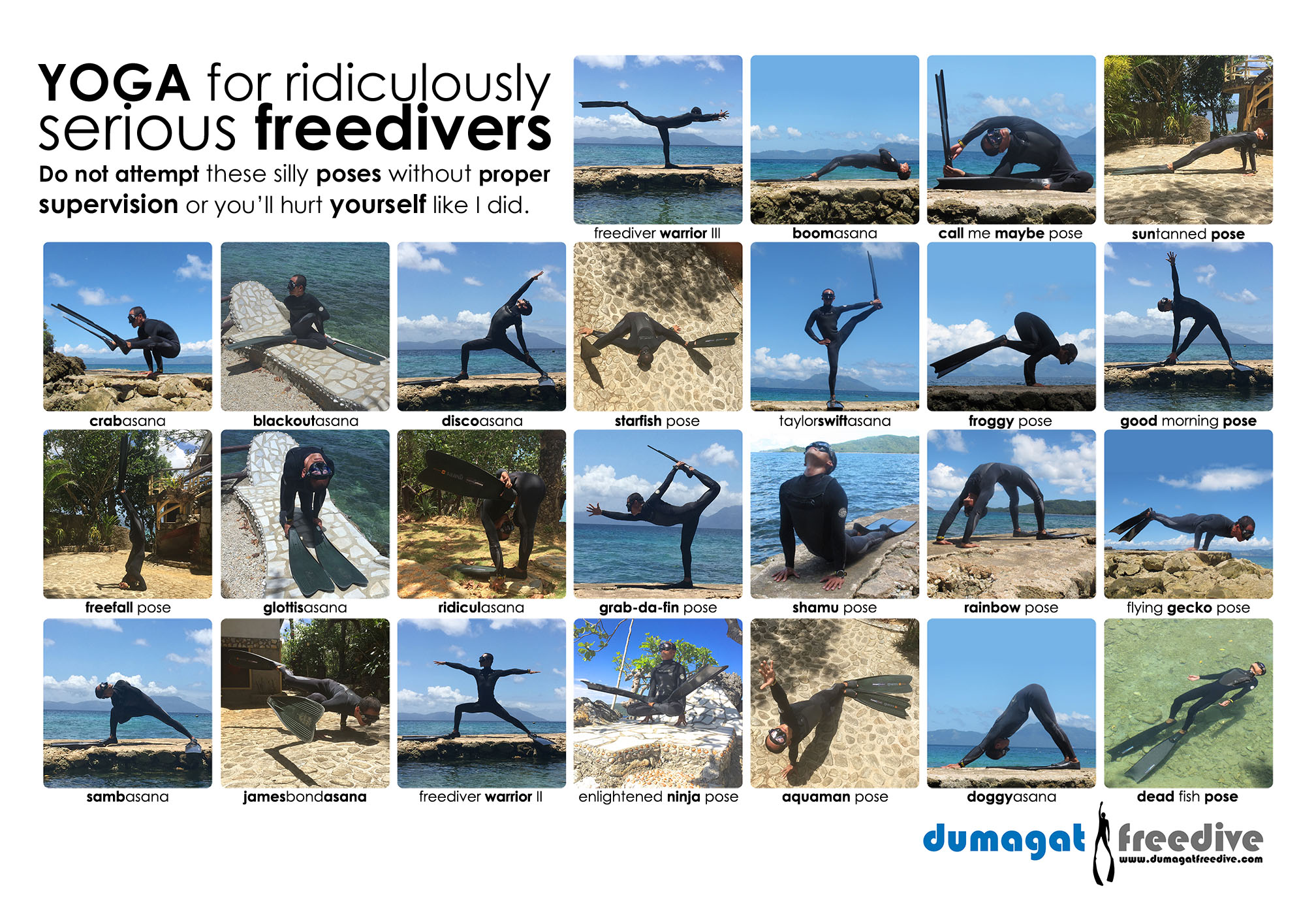 Yoga for ridiculously serious freedivers