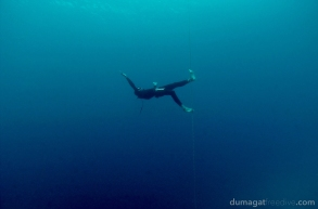 Antso the tightrope walker. ‪#‎Freediving‬ ‪#‎Romblon‬ ‪#‎Philippines‬ ‪#‎DumagatFreedive‬