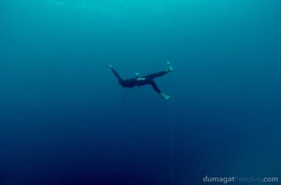 Antso the tightrope walker. #Freediving #Romblon #Philippines #DumagatFreedive