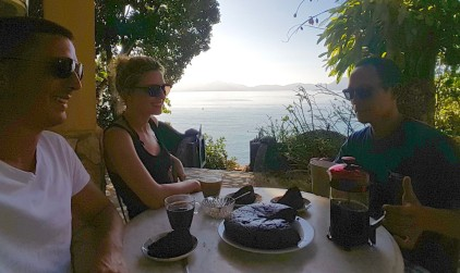 Coffee and all things sugary - some of the things freedivers do without for the love of the sport. But it's Sunday and we're going wild. #DumagatFreediveSunday #FreediversGoneWild