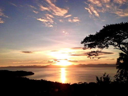 Romblon Sunset is our favorite color. Romblon's Deep Blue comes second. ‪#‎Romblon‬ ‪#‎Philippines‬