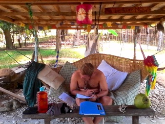 We don't like classrooms so we decided to visit another island to do the freediving final exam. Here's Janis completing the exam at Tuburan Community, perhaps the coolest and most chill place in the province. Congratulations, Janis! Welcome to freediving! And big thanks to Tuburan for welcoming and hosting us.