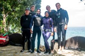 Team smiley :) Thanks for the photo, Denen!