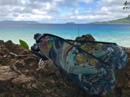 Naomi Gittoes' beautiful artwork made it to the island of Romblon in the Philippines!